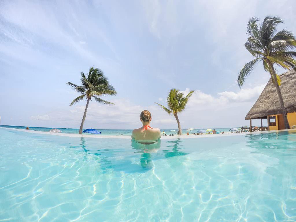 Infinity Pool at Mahekal Beach Resort