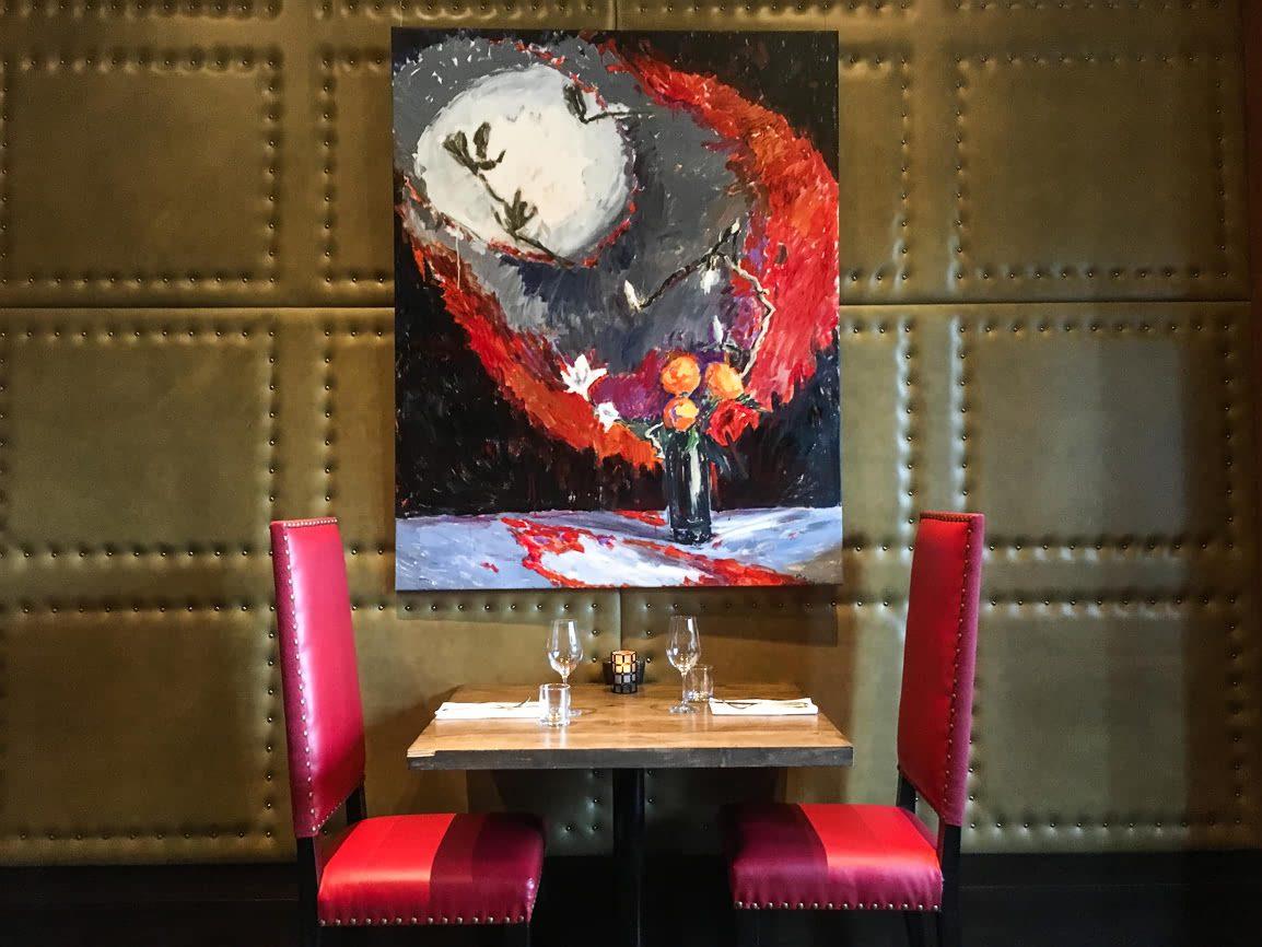 Aura restaurant at Nita Lake Lodge