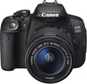 Canon 700D Photography Gear