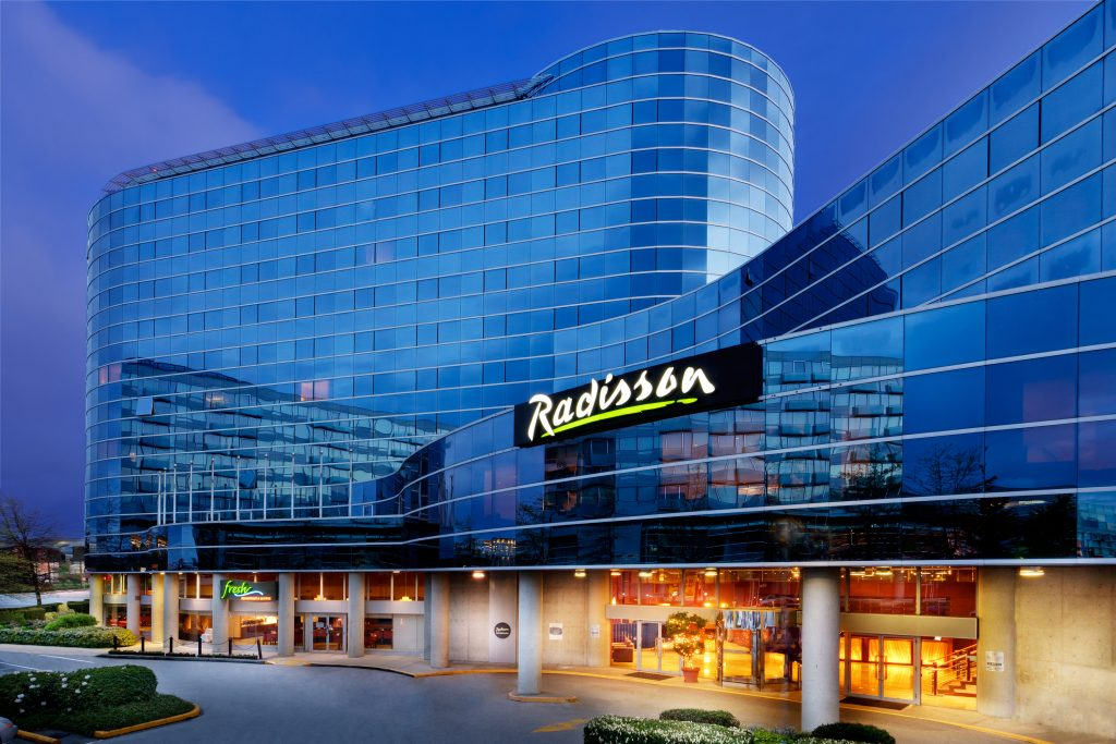 Radisson Hotel in Vancouver