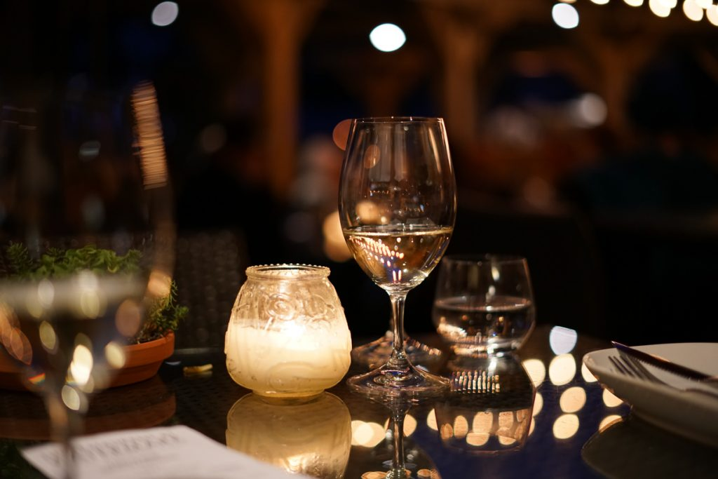 Dinner at Watermark Beach resort Osoyoos