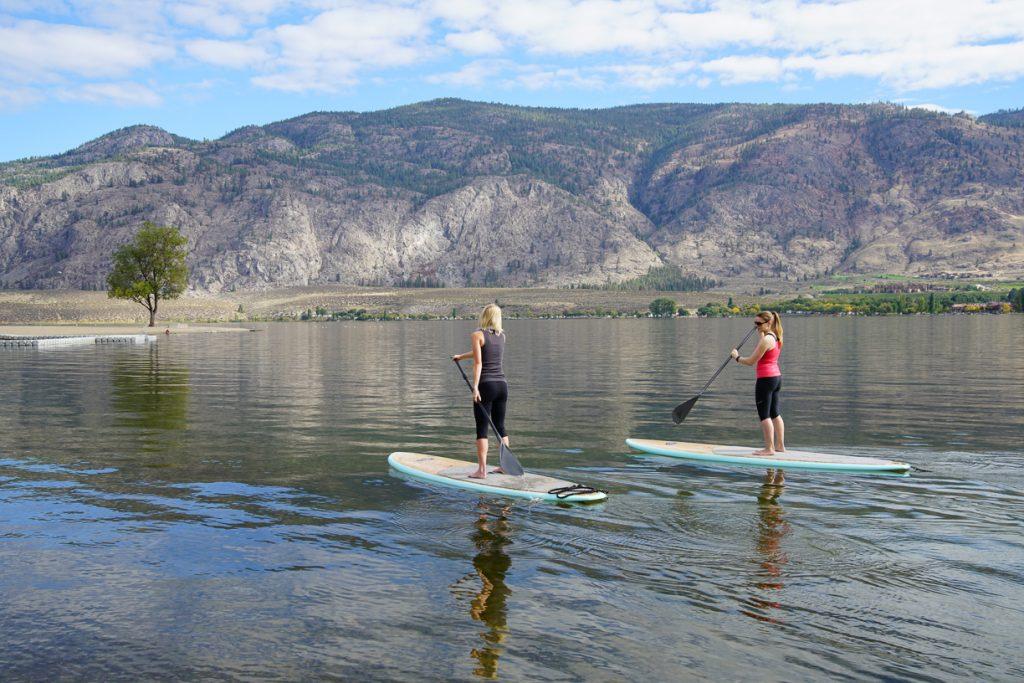 Paddle Boarding at Osoyoos Lake