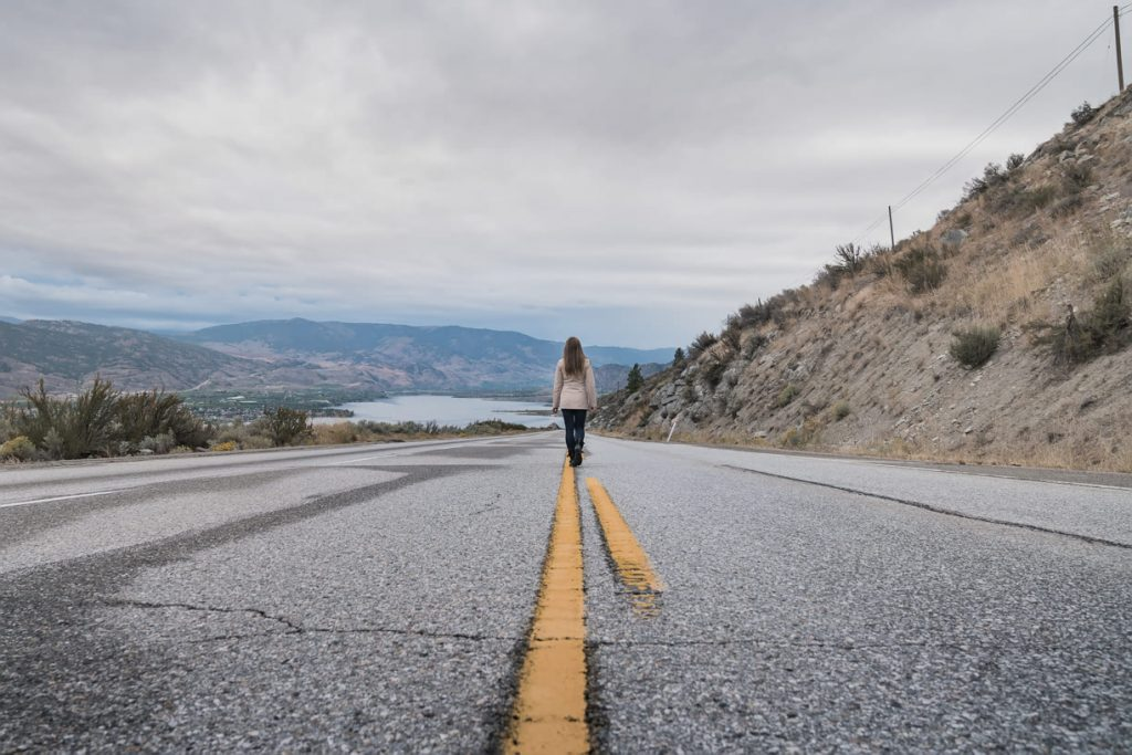 Road in Okanagan