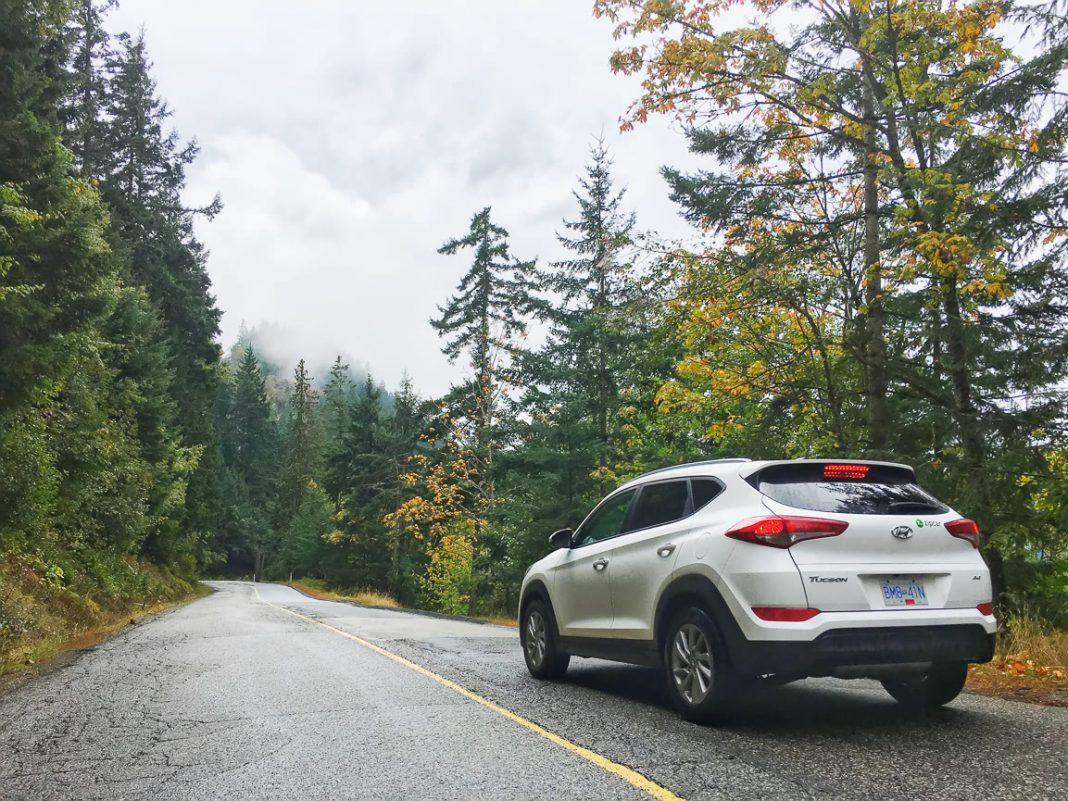 Road trip through British Columbia with Zipcar