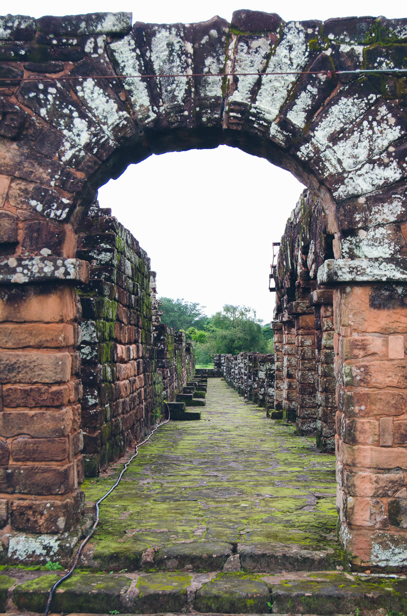 Jesuit ruins at Trinidad