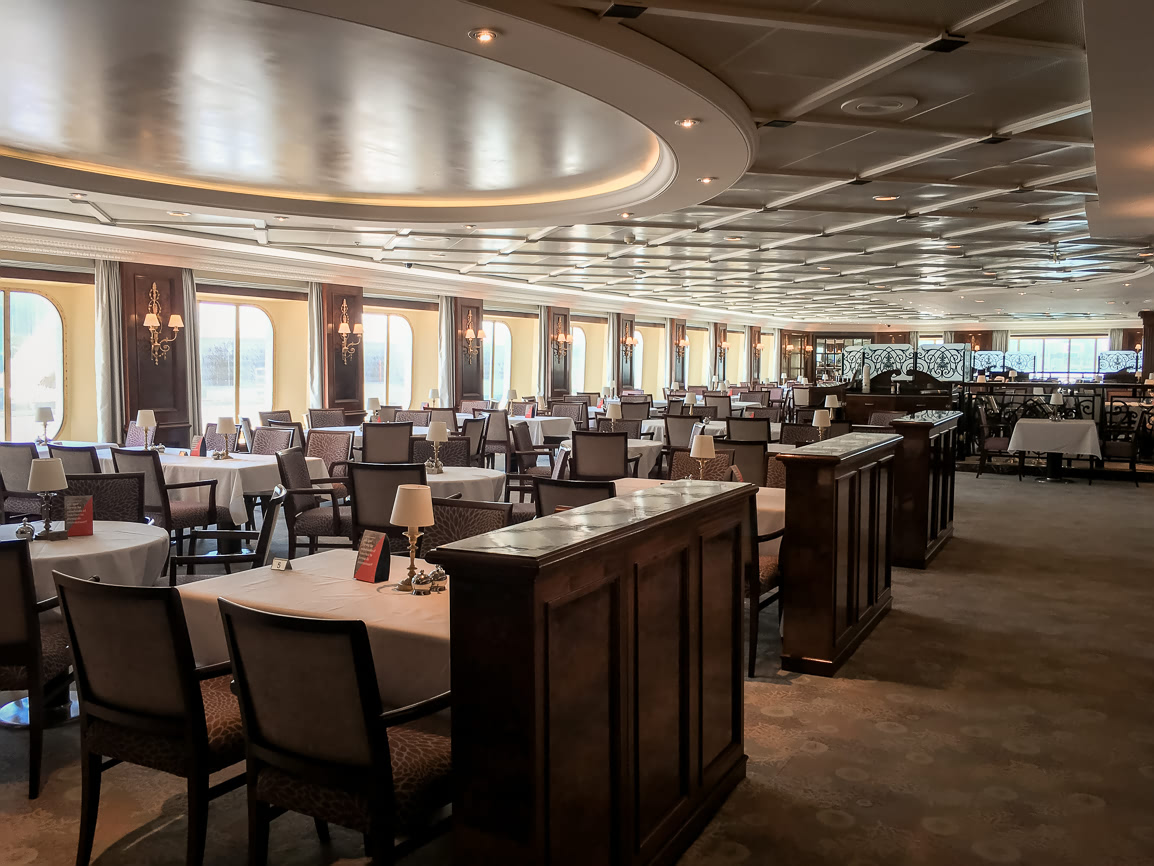 Pacific Restaurant on the Adonia