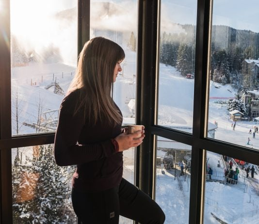2 bedroom suite at the Pan Pacific Whistler Mountainside Hotel
