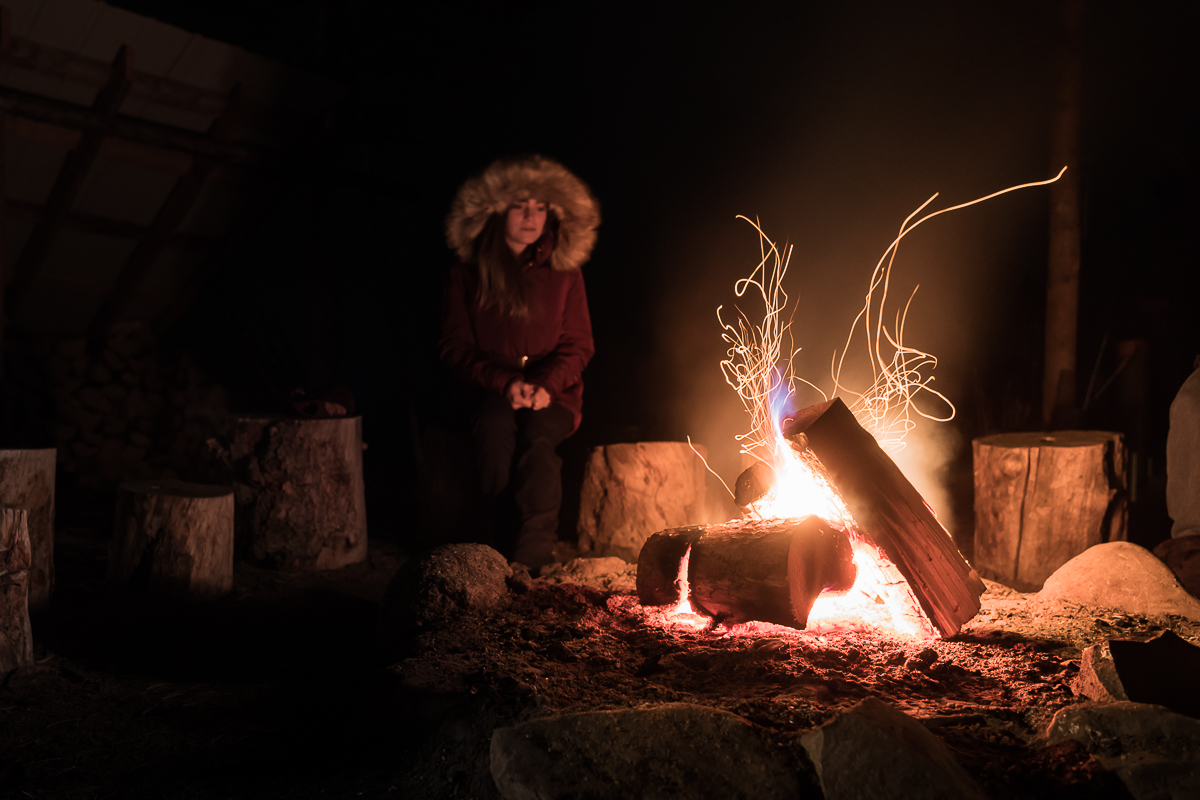By the fire with Northern Tales