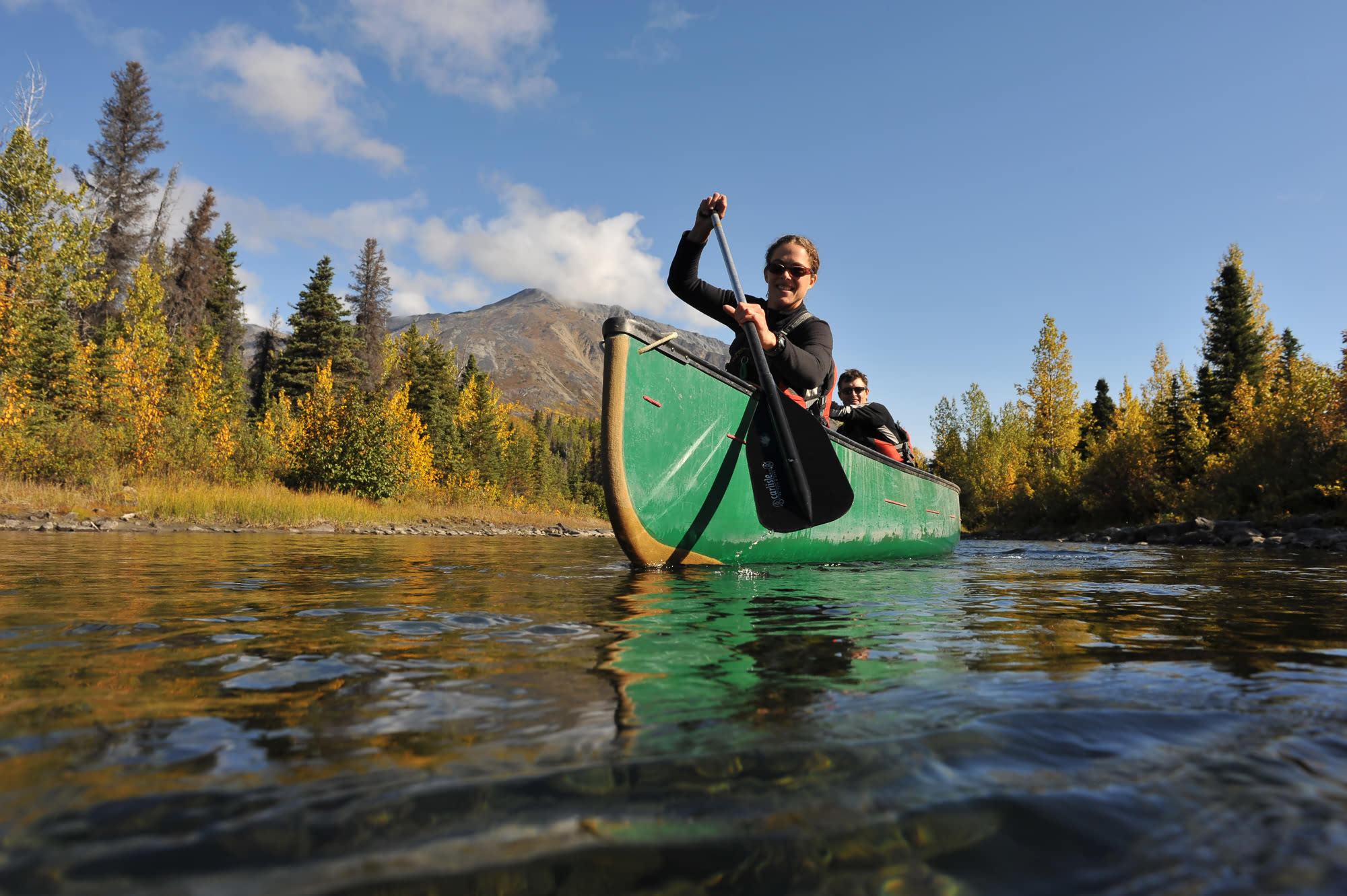 Canoe Yukon adventures