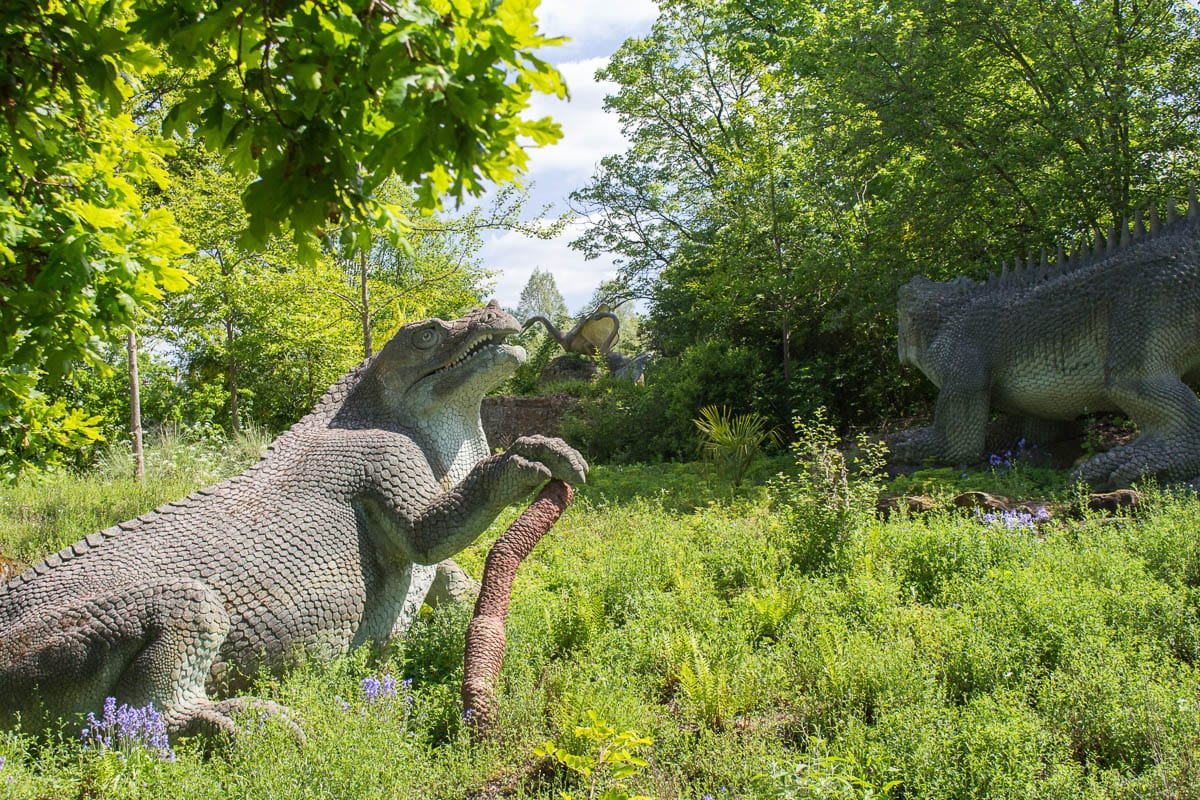 Crystal Palace dinosaurs unusual places to visit in London