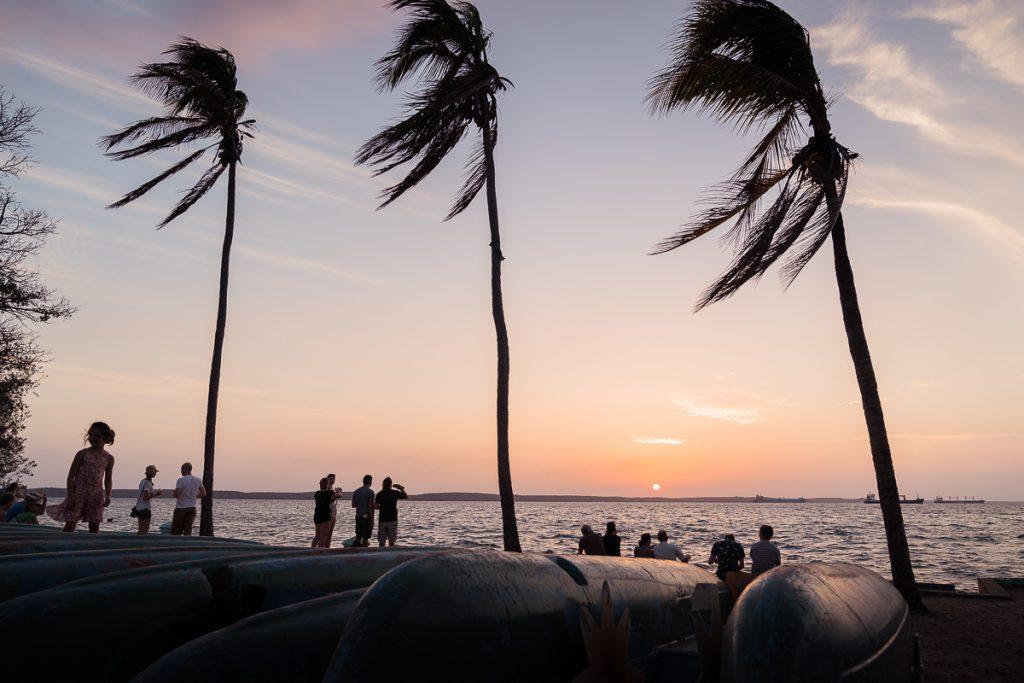 Cienfuegos Cuba sunset beach