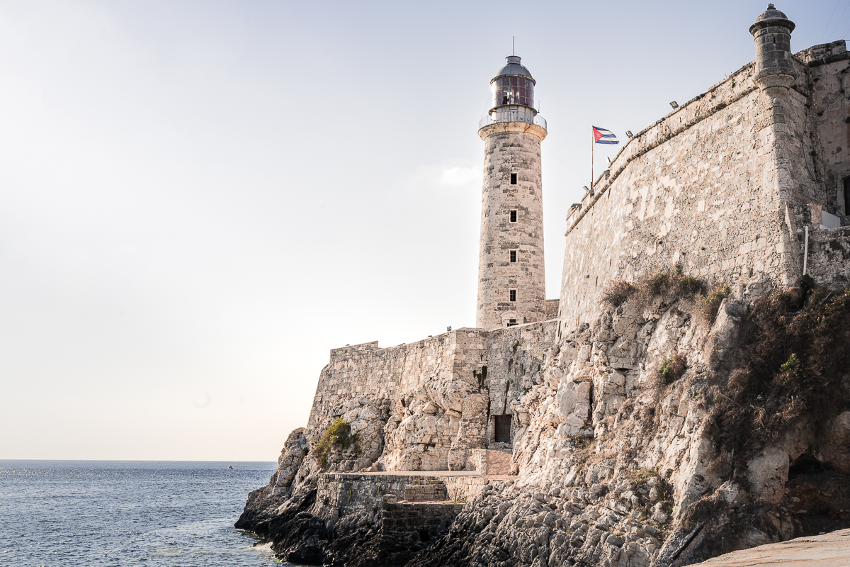 Havana Lighthouse Morro Castle 2 week Cuba itinerary