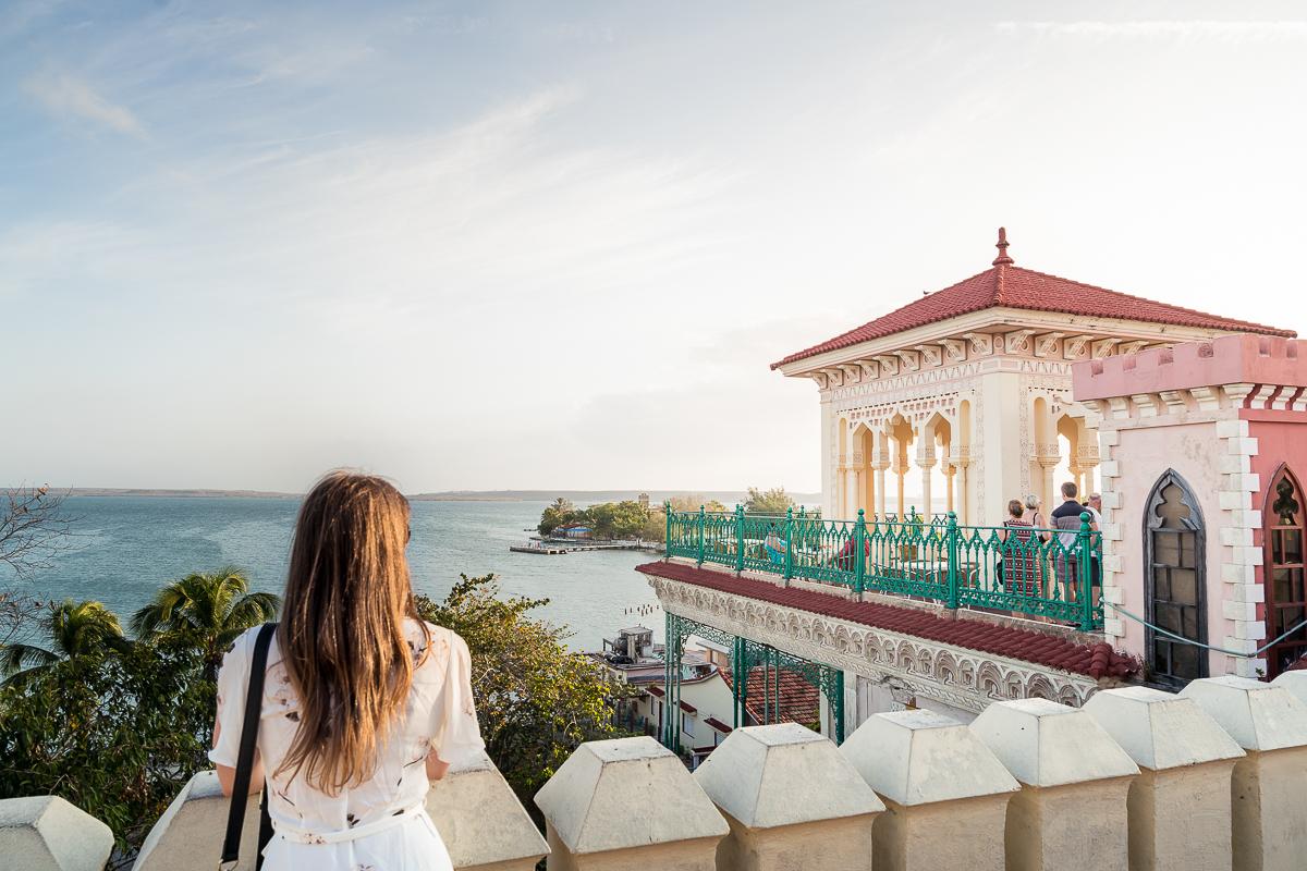 Palacio de Valle terrace view Cuba
