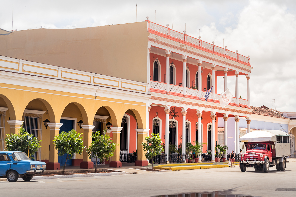 Remedios Cuba historic buildings