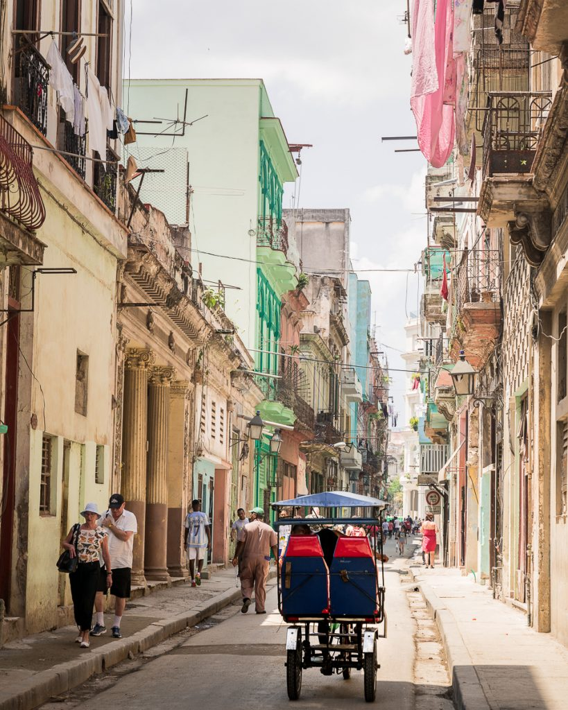 Street in Havana Cuba travel guide