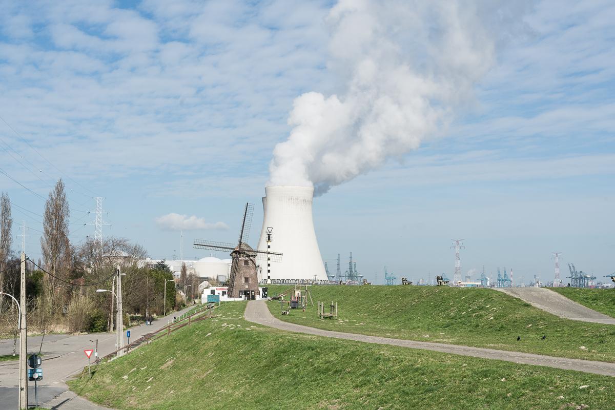 Doel power plant Belgium