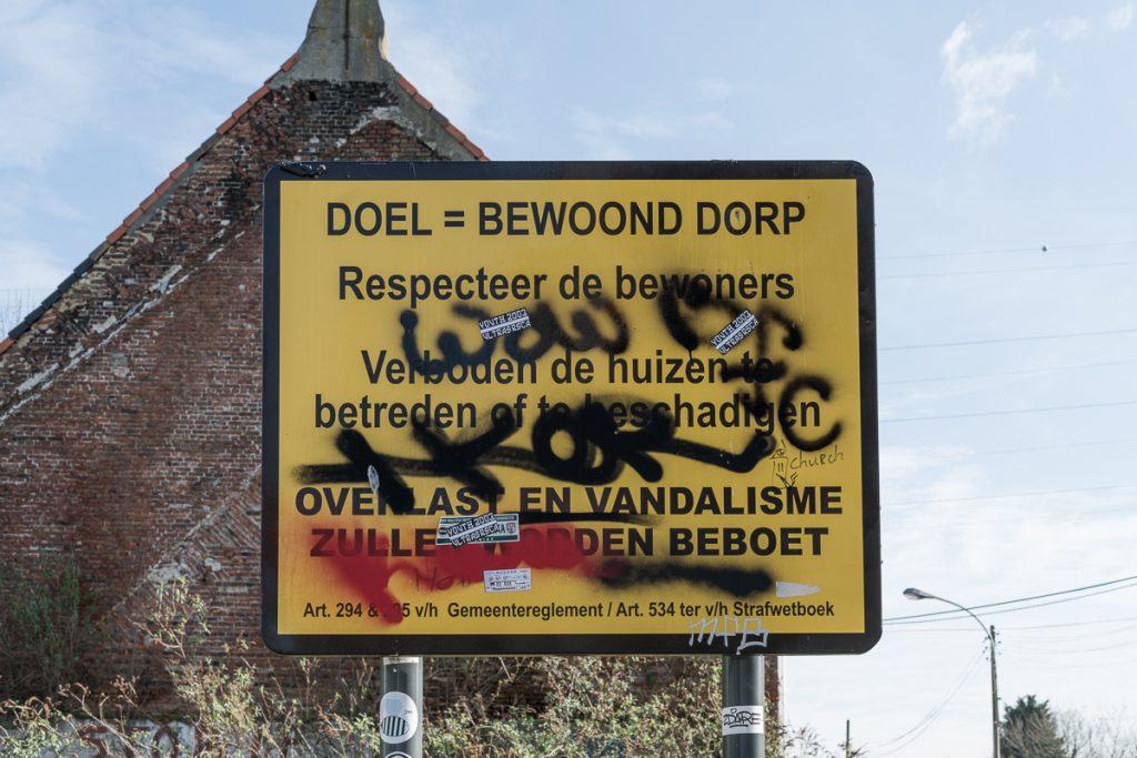 Doel spookstad Belgium