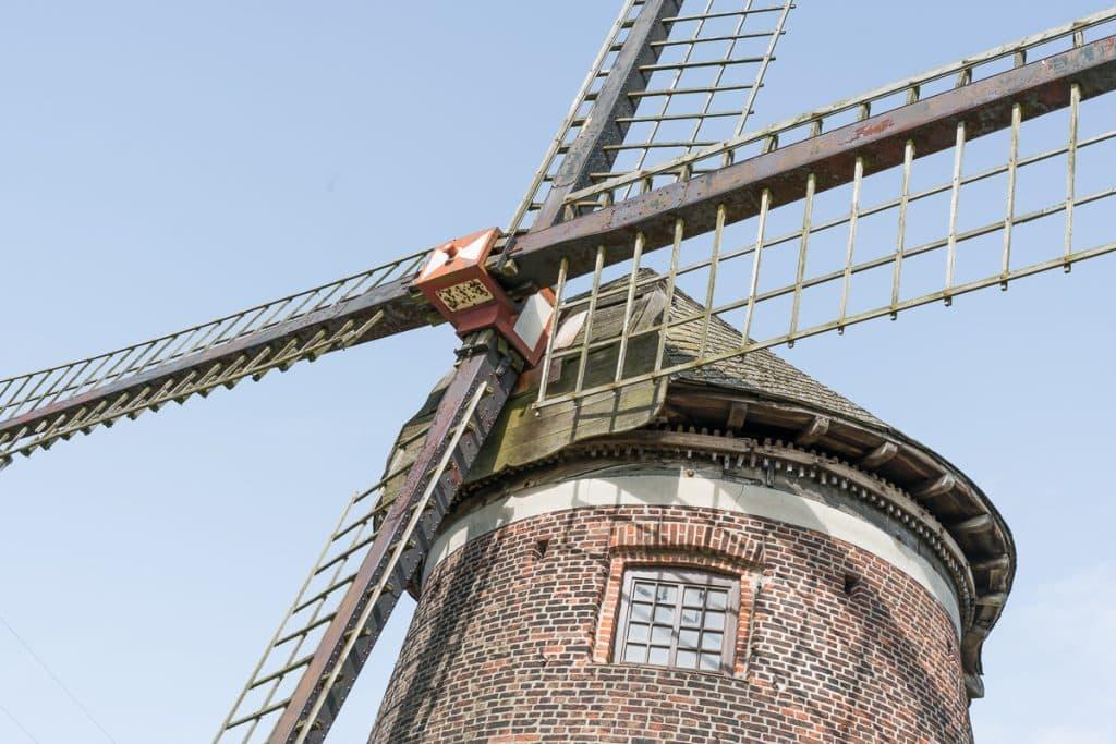 wind mill Doel spookstad