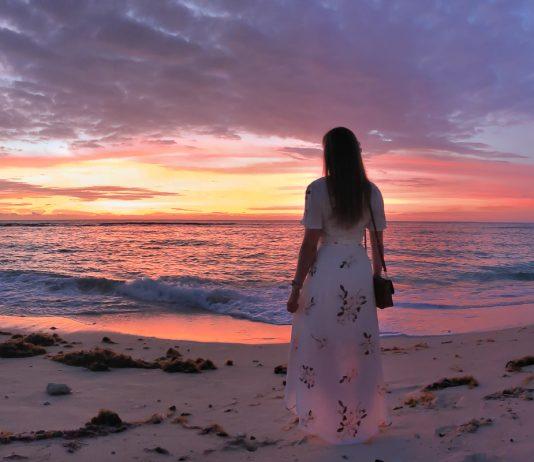 Fiji sunset