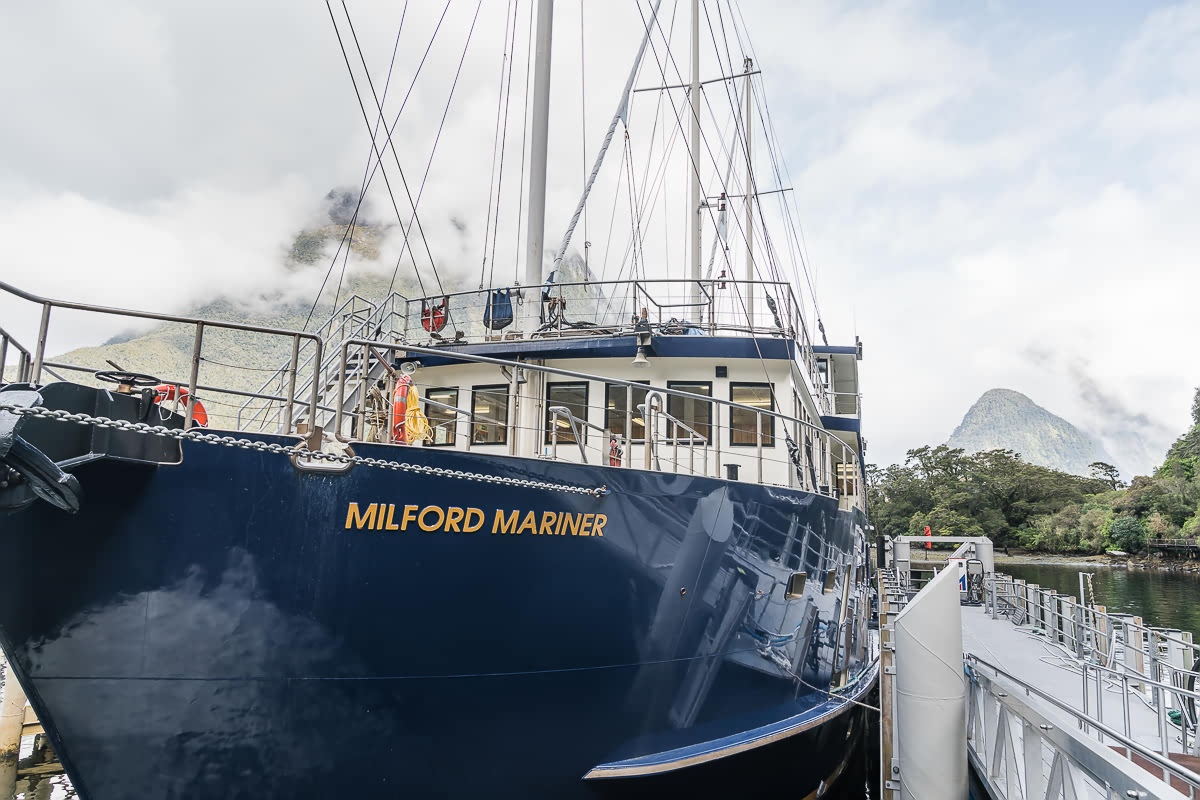 Milford Mariner Real Journeys Milford Sound