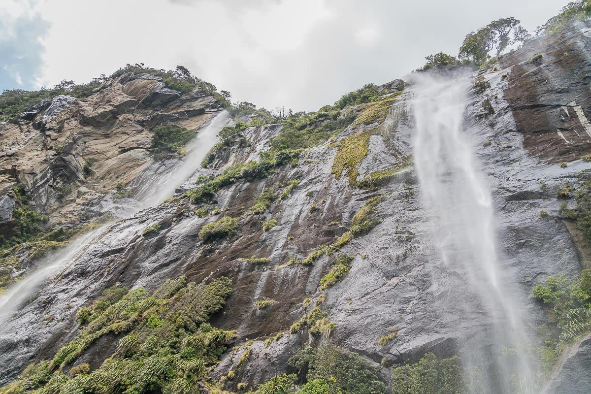 Milford Sound Waterfalls NZ