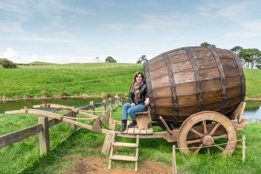 giant barrel in Hobbiton