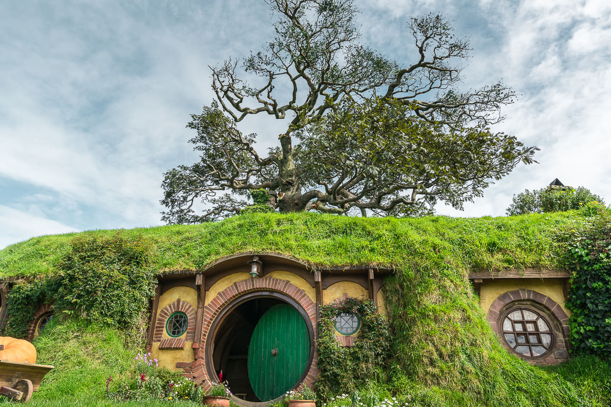 Bag End in Hobbiton New Zealand