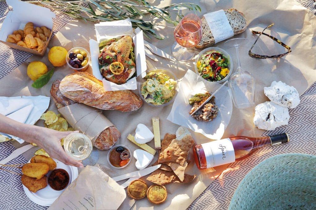 Spier Farm Kitchen - picnic landscape