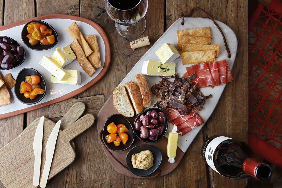 Spier Wine tasting - platter