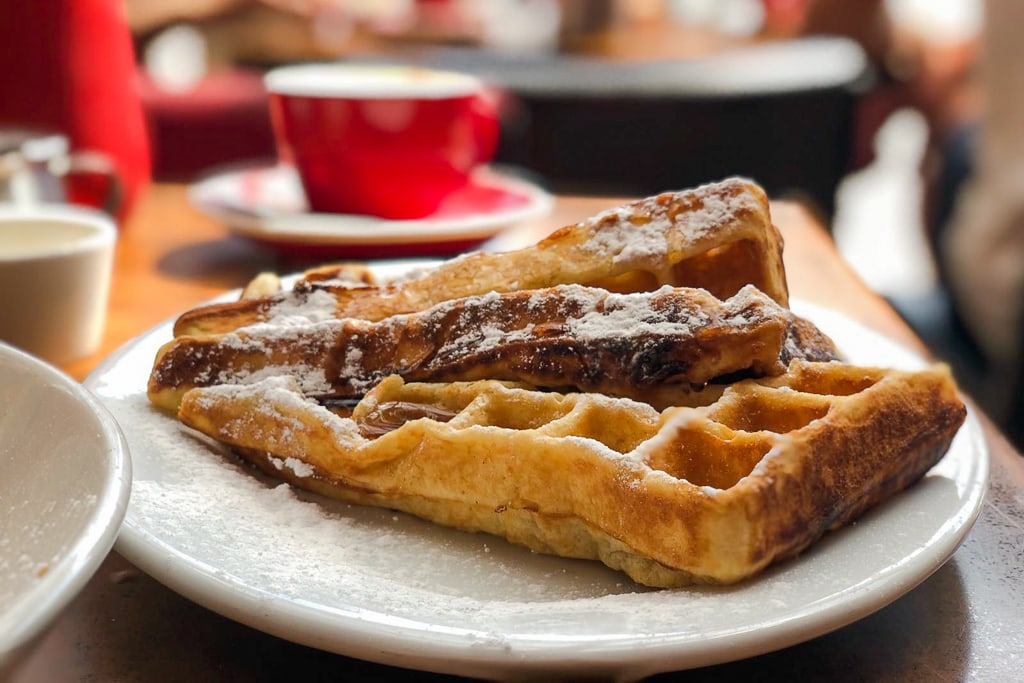 waffles brunch wellington