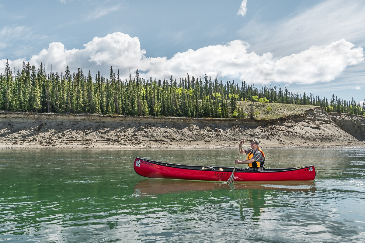 Canoe Yukon river one week Yukon