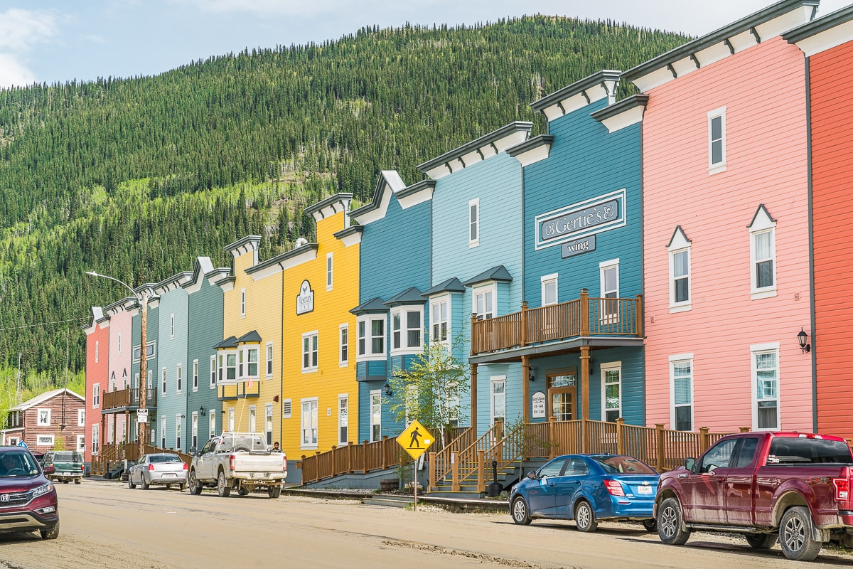 Dawson City Yukon itinerary