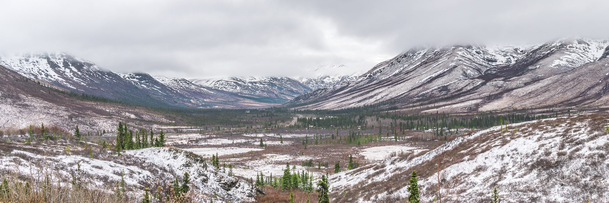 Dempster Highway views Yukon road trip