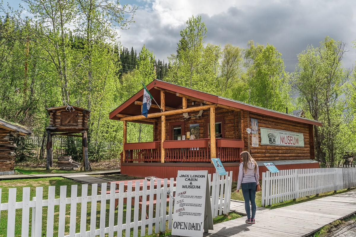 Jack London museum Yukon week itinerary
