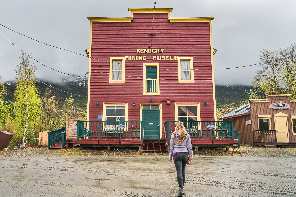 Keno City museum Yukon week itinerary