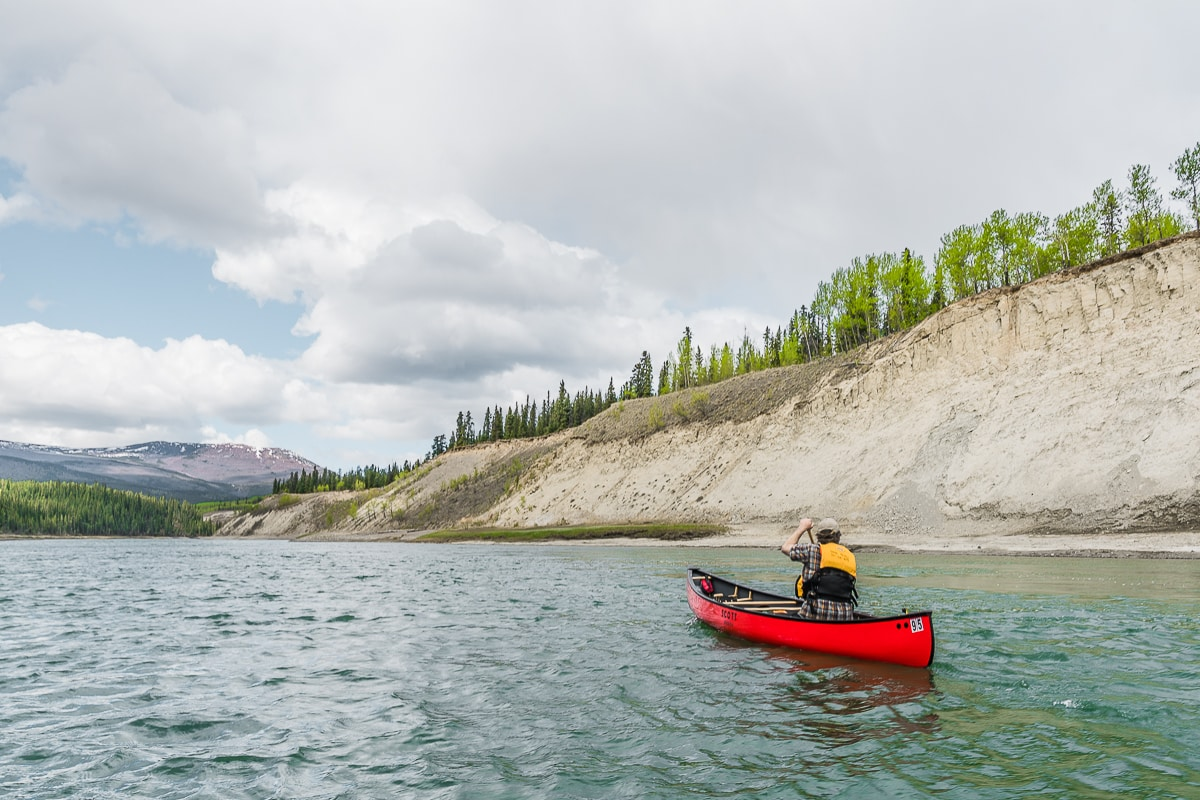Yukon River Canoe Trip from Whitehorse
