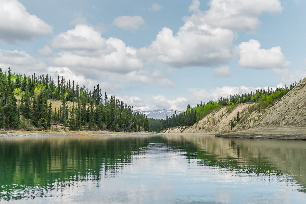 Yukon River Canoe Trip in Summer
